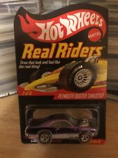 HOT WHEELS Plymouth Duster Thruster Series 8 Red LineReal Riders
