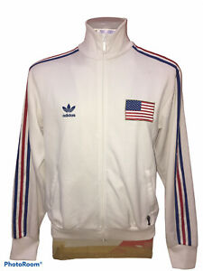 """Jacket Adidas limited Vintaght USA FIFA Size 43"""" inches Length 26.5"""""""