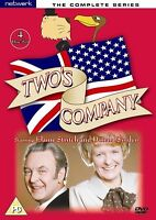 Two's Company -Complete ITV TV Comedy Series All 28 Episodes New UK Region 2 DVD