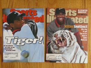 2 TIGER WOODS Sports Illustrated Magazines THE MASTERS Killer Instinct 1996 1998