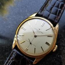 VACHERON & CONSTANTIN Men's 18K Gold Dress Watch 4066 Hand-Wind, c.1950s MS233