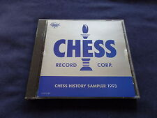 The Chess History Sampler Promo CD 1993 XCLNT Condition 18 Great Blues Trax