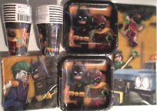 BATMAN LEGO Birthday Party Supply Supply Kit Set 16