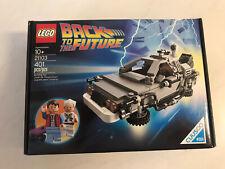 LEGO 21103-Back To The Future-Delorean Time Machine- New Sealed