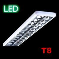 Büroleuchte LED oder T8 Rasterleuchte Deckenleuchte Lampe Arbeitsplatz Büro