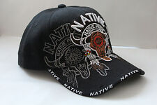 Ball Cap Native pride schwarz Amerika USA Kappe Basecap Mütze sunvisor Haube