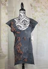 Monarchy Femme womens sleeveless stretch knit sz xs geometric print top wrbb
