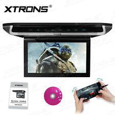 "10 "" HD Digital TFT Monitor Touch Panel Car Roof Overhead Flip Down DVD Player"