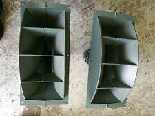 Vintage Altec Lansing Horn Drivers & H-811B Horns Pair one not working Heathkit