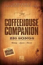Coffeehouse Companion 220 ACOUSTIC Songs Folk Pop PLAY GUITAR Music Book