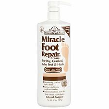 Miracle Foot Repair Cream - for Dry, Cracked, Itchy Feet & Heels (32 oz)