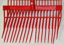 Future Fork Bedding Stables Farm Ranch Manure Barns Horse  Wood Handle RED