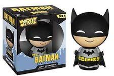 Funko Pop Dorbz Batman Black Suit Bruce Wayne Dc Comics Movie Vinyl Figure #36