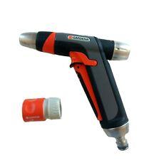 Gardena Premium Stainless Steel 2 in 1 Spray water Gun Nozzle 9917M