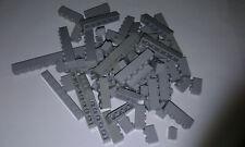 Lego Steine 100g hellgrau 1x1 bis 1x12 light gray bricks , 100 Gramm (hgr1)