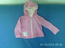 Baby Girls 18-24 Months - Pink Velour Zip Up Hoodie, Tinkerbell - Disney Store