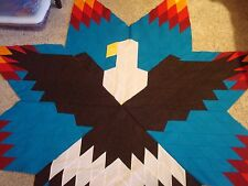 BALD EAGLE LONE STAR - Quilt Top Only, machine pieced, Made in the USA
