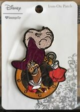 New Disney Loungefly Patch Captain Hook Peter Pan Embroidered Iron On Applique