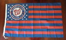 Washington Nationals 3x5 American Flag. Us seller.Free shipping within the Us!