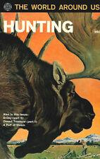 World Around Us #31 Vg, Hunting, Cradall/Evans, Kirby, Classics Illustrated 1961