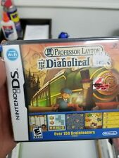 New Professor Layton and the Diabolical Box (Nintendo DS, 2009) sealed!!