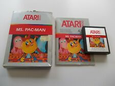 MS. PAC-MAN   ATARI 2600 / 7800 GAME  BOXED COMPLETE  (TESTED AND WORKING)