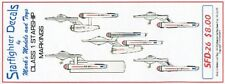 STARFIGHTER Star Trek: Class I Starship Markings for 5 Ships SFA26