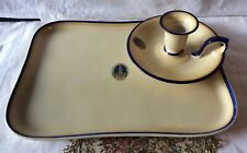 Lamberton China Hotel Traymore  Fingertip Candle Holder and Dresser Tray