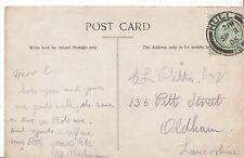 Genealogy Postcard - Family History - Pitts - Oldham - Lancashire   GN270