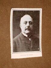 Rara stampa dei primi del 1900 Il Presidente Antonio Salandra