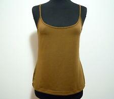 LUISA SPAGNOLI Camiseta De Tirantes Mujer Jersey Algodón Top M Sz. - 44