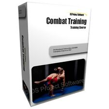 P2 COMBAT KICK BOXING HAND TO HAND TRAINING STUDY COURSE MANUAL ON CD