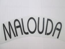 Malouda Chelsea European Football Shirt Name Set Name Block only Kids Youth