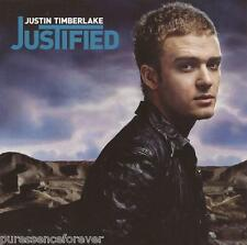 JUSTIN TIMBERLAKE - Justified (EU/UK 13 Tk CD Album/Poster)