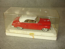 Age d'or Solido 1950 #4512 Red W/White Roof Buick Super Toy Car Clear Box France