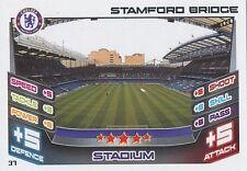 N°037 STAMFORD BRIDGE STADIUM CHELSEA.FC TRADING CARD MATCH ATTAX TOPPS 2013