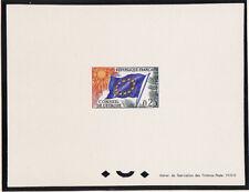 épreuve de luxe  service conseil de l'Europe 0,25  1965   num: S 29