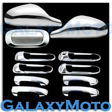 05-11 Dodge Dakota Chrome Non-Fold Mirror+4 Door Handle no PSG KH+Tailgate Cover