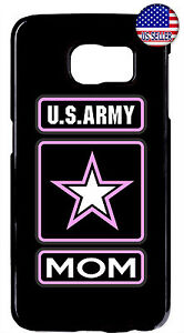 Proud US Army Forces Mom Rubber Case Cover For Samsung Galaxy Note 10 + 9 8