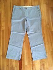 Dockers Khaki Pants Classic Fit D3 Flat Front Soft Light Blue Mens size 40 x 30