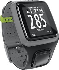 TomTom Runner GPS Running Watch - Dark Grey (Certified Refurbished) One-Button