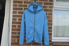 BALMAIN Blue Side Zip Hoodie | Size XXL Slim SS15 RRP $820