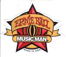 Ernie Ball Music Man Star Sticker