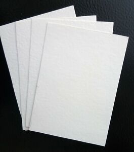 50x ATC Blanks, ACEO Blanks, Watercolor Paper, Artist Trading Card Supplies