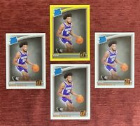 Lot of (4) 2018-19 Donruss MARVIN BAGLEY Rated Rookie Yellow Flood SP #168 RC🔥
