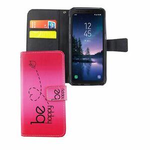 Funda para Móvil Samsung Galaxy S8 Active Bolsa de Protección 360 Carcasa Rosa