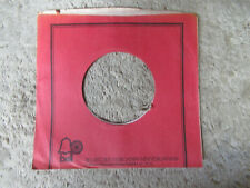 sleeve only BELL 45 record company sleeve only    45