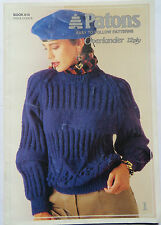 Patons Overlander easy to Follow Patterns Overlander 12ply Book No.810