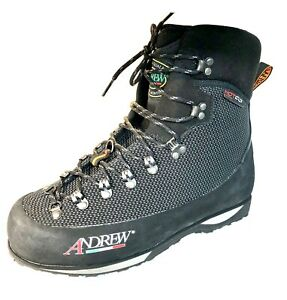 ANDREW Creek Wading Boots, Black/Anthracite, HAND MADE in ITALY. Not SIMMS :)
