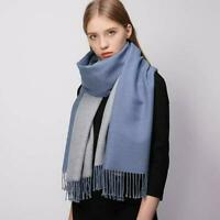 Women Winter Cashmere Wool Scarf,Shawl Wrap,Reversible Scarves